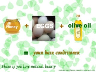 honey hair conditioner recipe