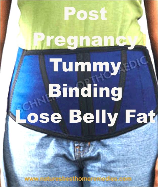 post pregnancy belt lose belly fat