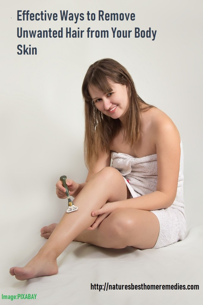best ways unwanted hair removal