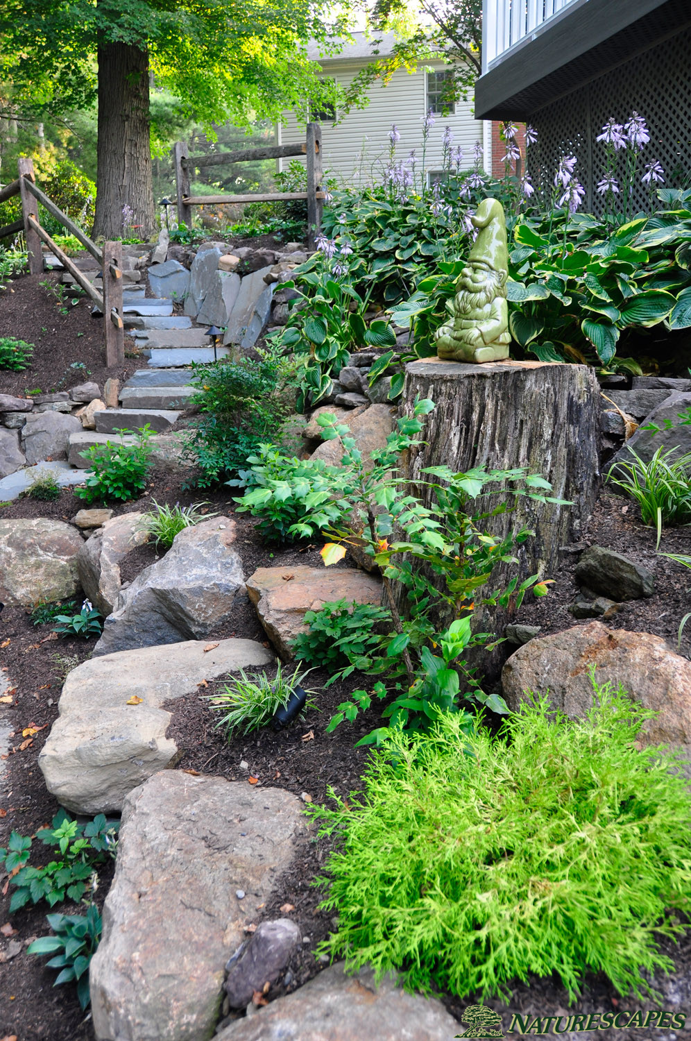 Landscape Design in Broomall, PA | Naturescapes ... on Backyard Lawn Designs id=45390