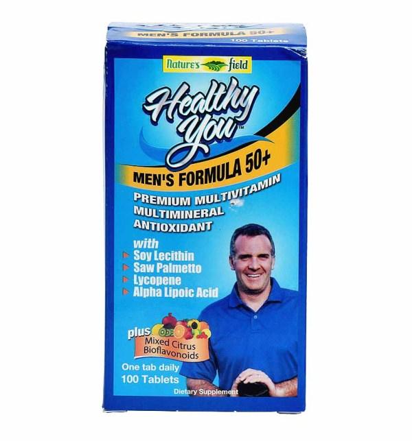 Nature's Field Healthy You Men's Formula 50+