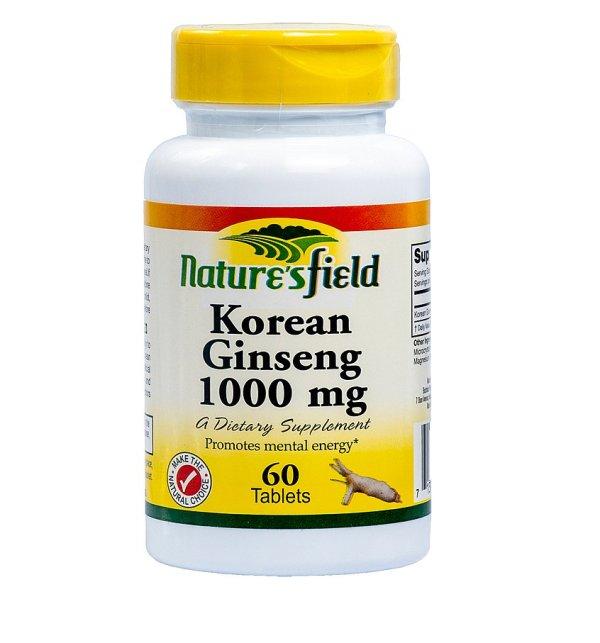 nature's field korean ginseng