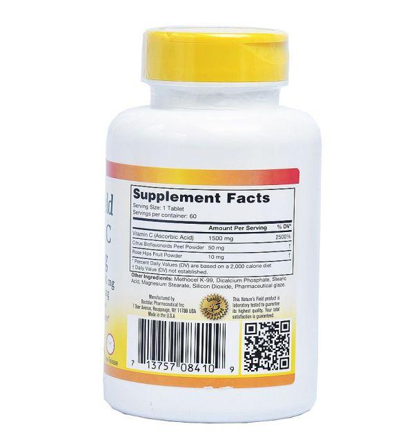 vitamin c 1500mg
