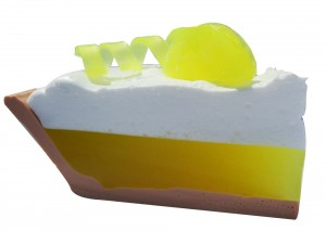 lemon meringue pie soap