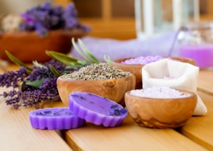 lavender in bath products