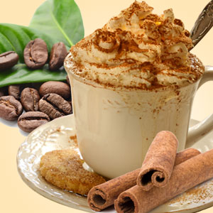 Coffee Scents:  Cinnanut Columbian Cafe Fragrance Oil