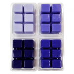 Violet Color Blocks Dye