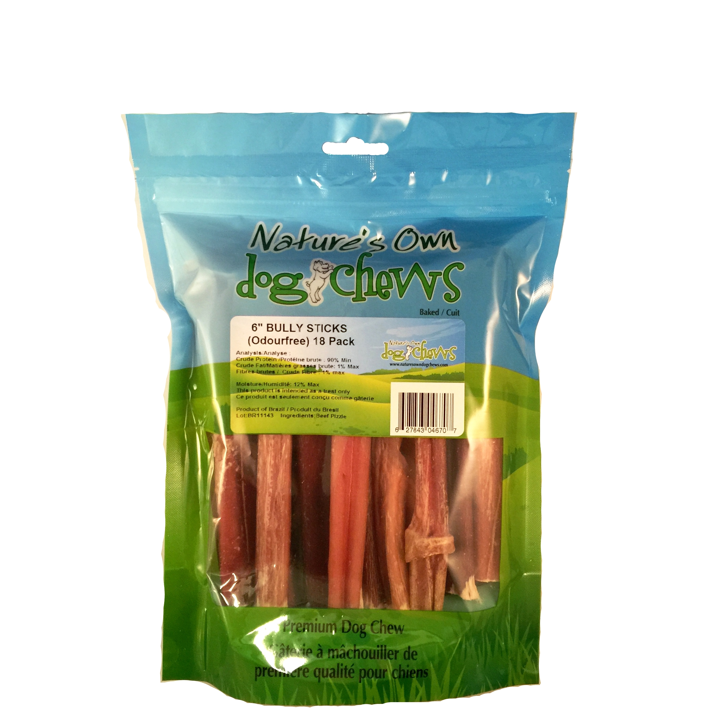bully sticks nature s own dog chews. Black Bedroom Furniture Sets. Home Design Ideas