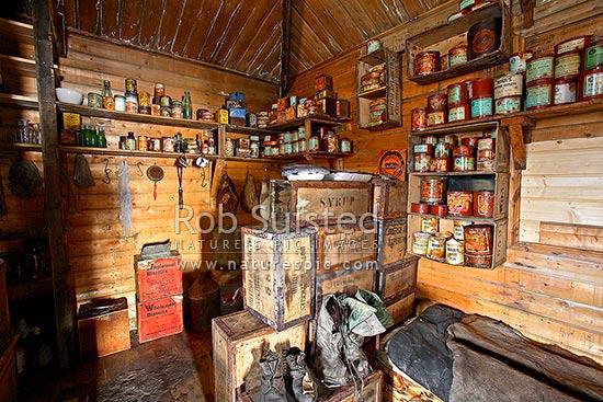 Kitchen Area Of Ernest Shackletons British Antarctic