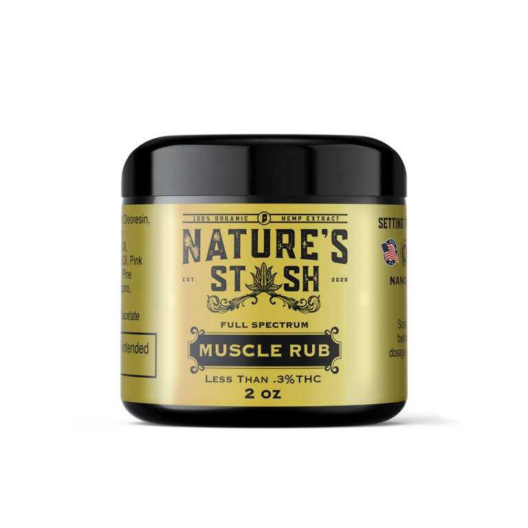 Nature's Stash Full Spectrum CBD Lotion for Pain