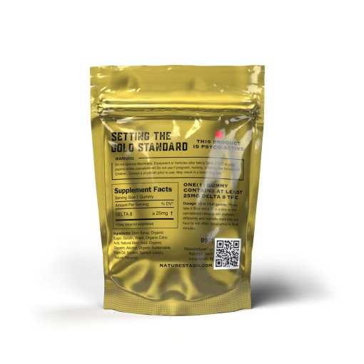 Nature's Stash Delta-8 CBD THC Gummies