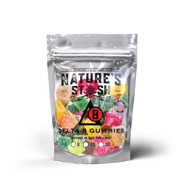 Nature's Stash Delta-8 CBD THC Gummies