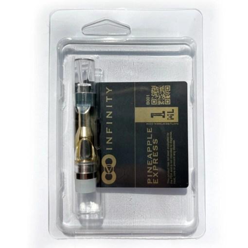 Pineapple Express Flavored THC-O Vape Refill Cartridge by Nature's Stash CBD