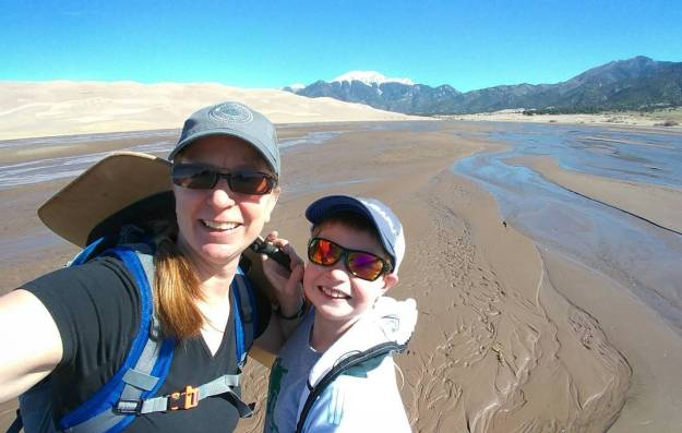 At Great Sand Dunes