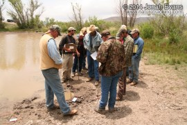 Tracking in West Texas