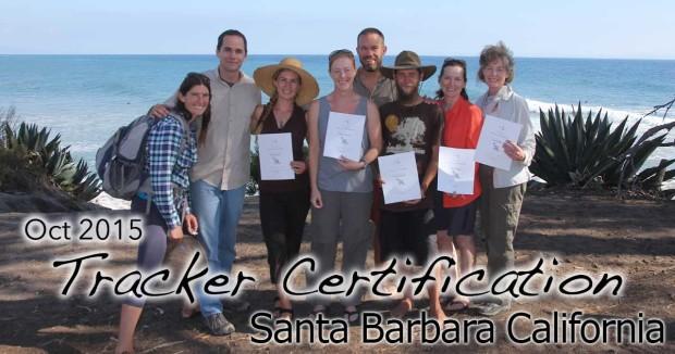 Santa Barbara Tracker Certification 10/18/2015