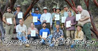 Los Padres Specialist Certification 11/15/2016