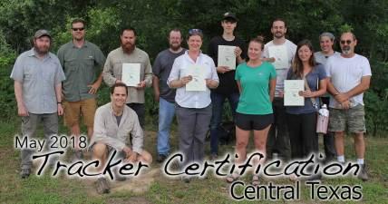 San Diego Tracker Certification 5/06/2018