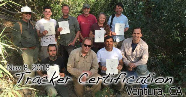 Ventura Tracker Certification 11/08/2018