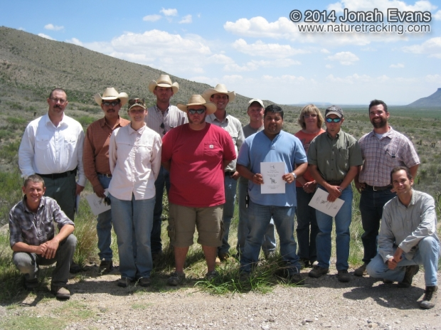 Tracker Certification in West Texas 05/28/2010