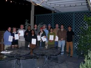 Tracker Certification in San Diego, CA 11/13/2010
