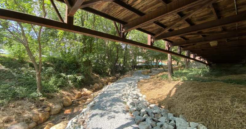 Durham Central Park Creek Trail