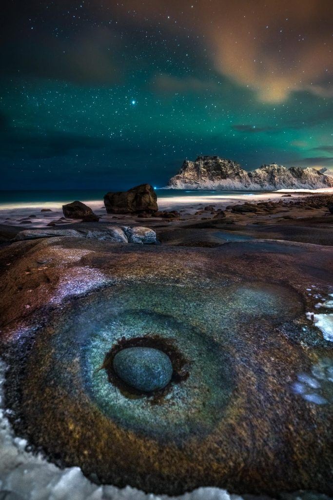 The Night Sky Category: 'The Eye' by Ivan Pedretti