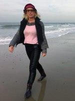 Style-Coach Susanne am Meer