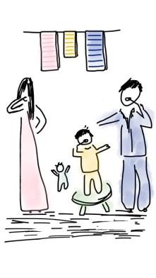 Børneopdragelse, manglende tid, Familie, morgenrutiner