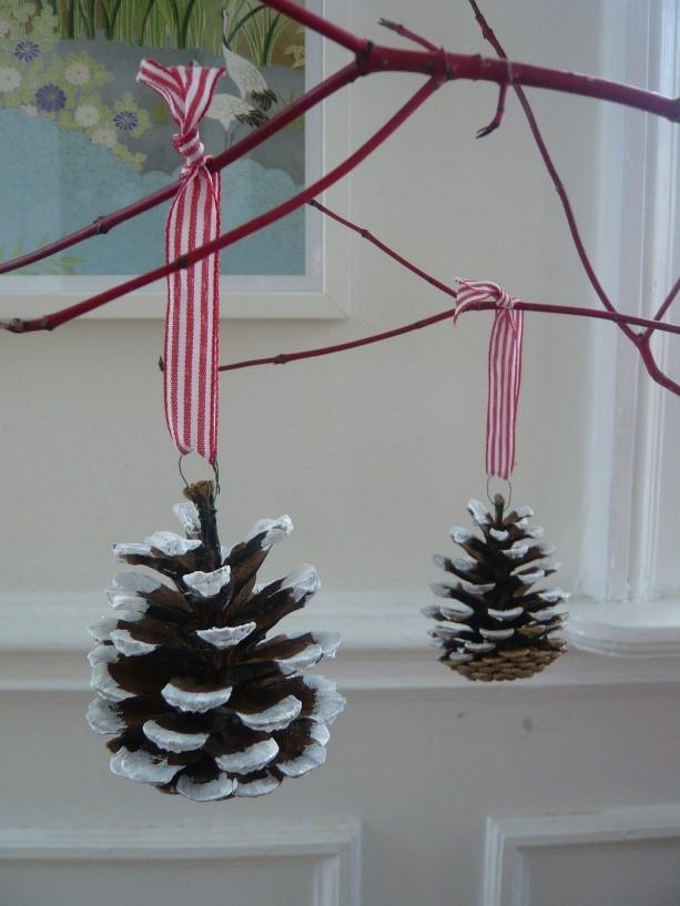 julekogler, julepynt, pynt med børn, julepynt med børn, børneopdragelse, naturligopdragelse,