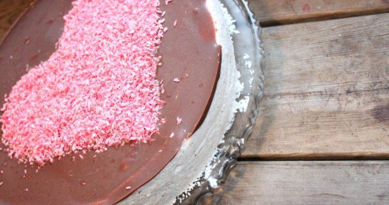 Skumkake til valentines (sukkerfri, lavkarbo)