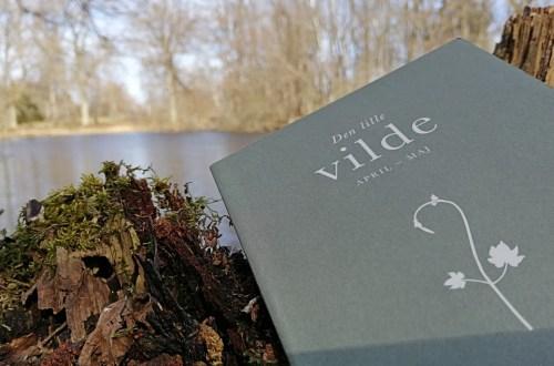 Bogen 'Den lille vilde' fotograferet ved vand