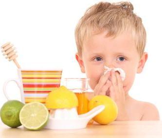 Limones y Resfriado