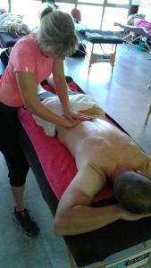 Massage du sportif - Stéphanie Borget - naturopathe