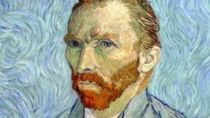 A self-portrait by Vincent van Gogh.