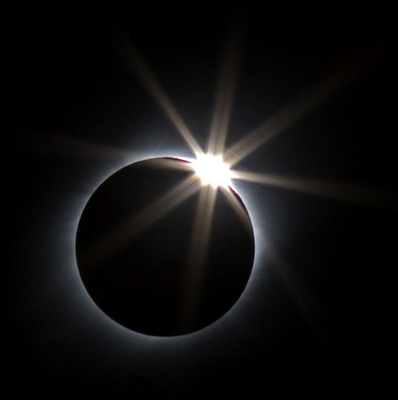 Diamond Ring In The Eclipse