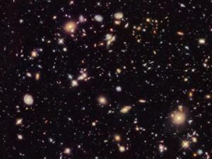 A photograph of Hubble Deep Field. Image: NASA