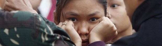 In the Eye of Super Typhoon Haiyan