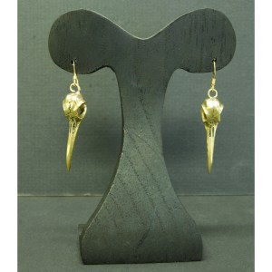 Hummingbird earrings bronze finsih3