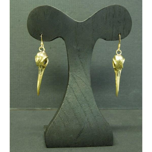 Hummingbird earrings bronze finsih3