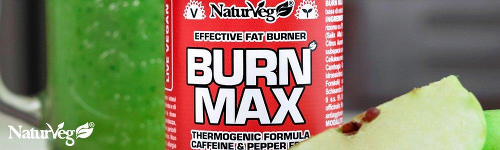 Burn max bruciagrassi vegan