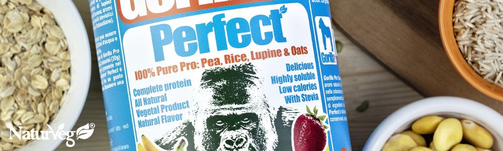 Gorilla Pro Source Perfect Integratore vegan proteine