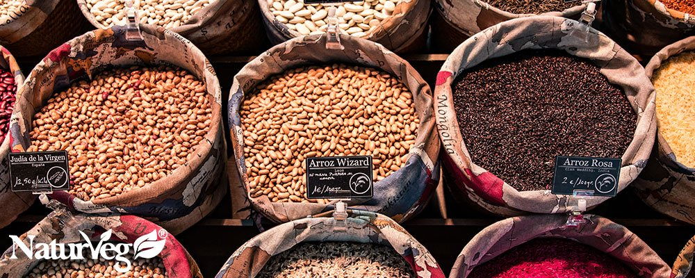 Proteine vegetali origine