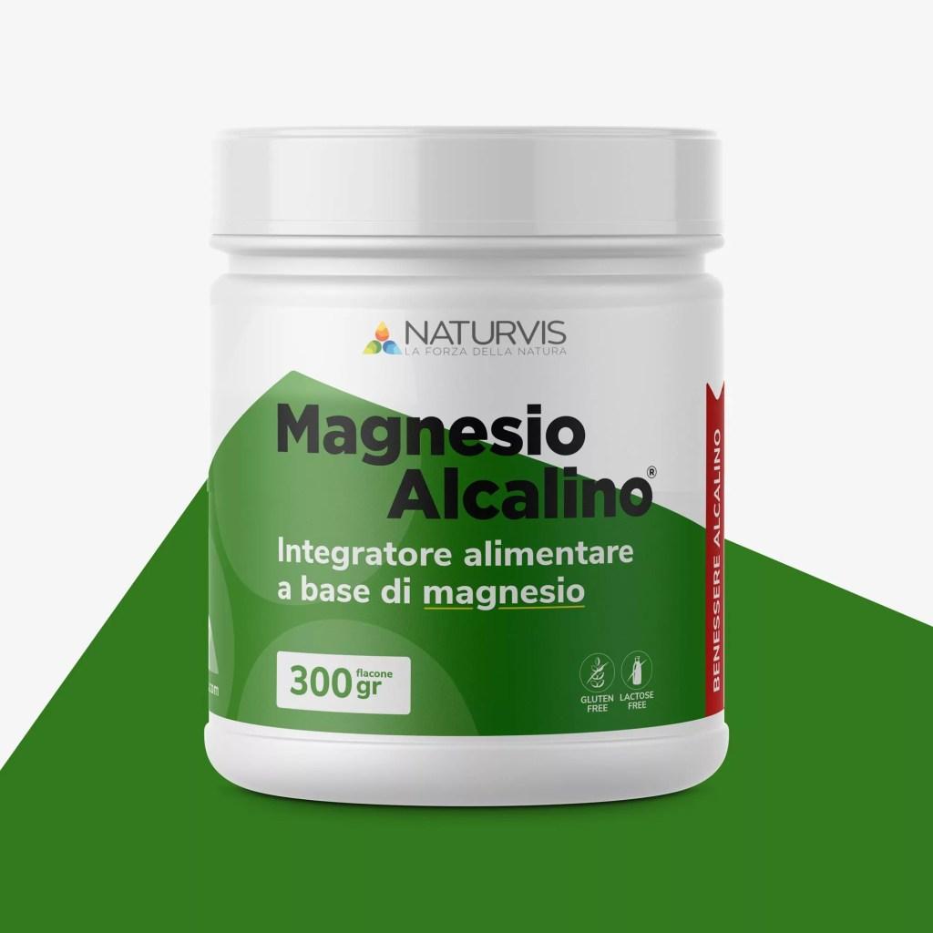 Integratore magnesio Alcalino 300gr