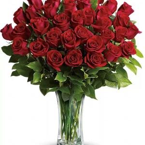 moederdag boeket rode rozen woerden