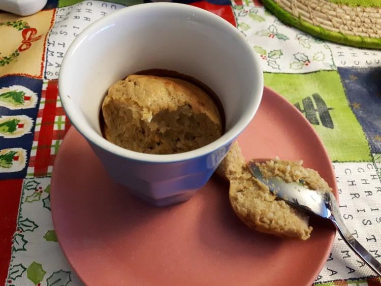 mugcake oersterk ontbijt Natuurlijk Linda