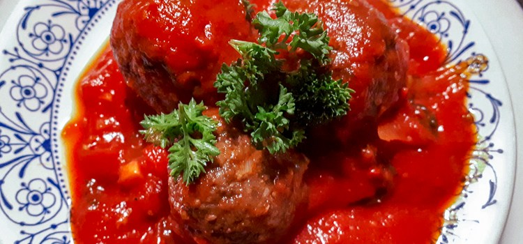 balletjes tomatensaus Natuurlijk Linda