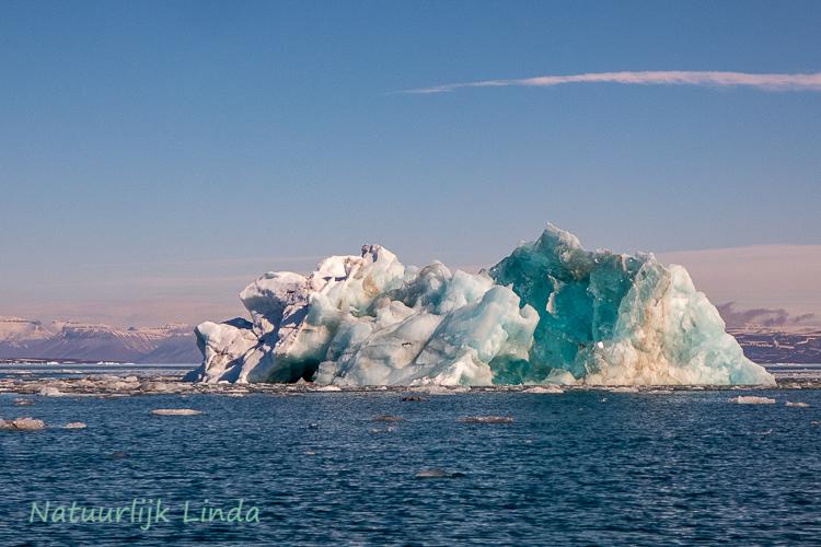 spitsbergen ijsschots natuurlijk Linda