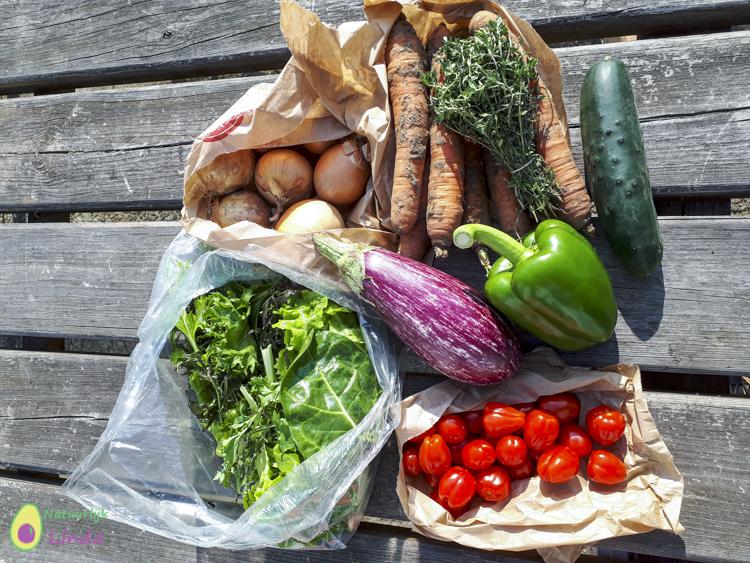 Rechtstreex bio groenten box