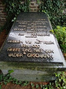 graf van de joodse familie Kossmann